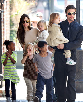 The Brangelina Family
